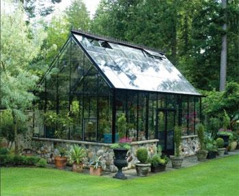 Växthus placering